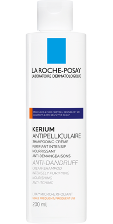Prohealth Malta La Roche-Posay Kerium Dandruff Shampoo for Dry Sensitive Scalp
