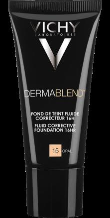 Prohealth Malta Vichy Dermablend Corrective Fluid Foundation - 16Hr - Shade 15
