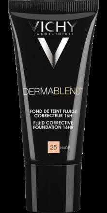 Prohealth Malta Vichy Dermablend Corrective Fluid Foundation - 16Hr - Shade 25