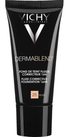 Prohealth Malta Vichy Dermablend Corrective Fluid Foundation - 16Hr - Shade 25