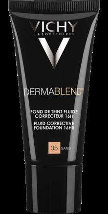 Prohealth Malta Vichy Dermablend Corrective Fluid Foundation - 16Hr - Shade 35