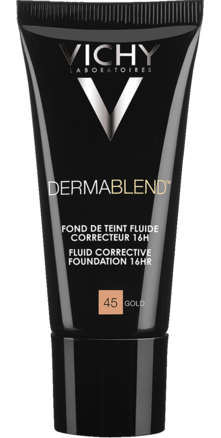 Prohealth Malta Vichy Dermablend Corrective Fluid Foundation - 16Hr - Shade 45