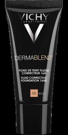 Prohealth Malta Vichy Dermablend Corrective Fluid Foundation - 16Hr - Shade 45