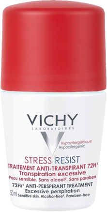 Prohealth Malta Vichy Deodorant Stress Resist Anti-Perspirant Roll-On 72Hr