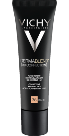 Prohealth Malta Vichy Dermablend [3D Correction] Foundation - 16Hr - Shade 35
