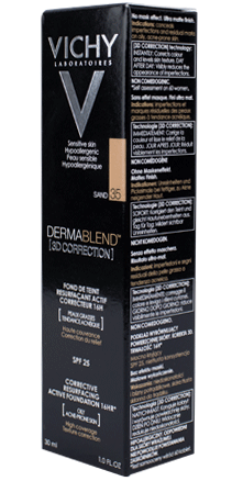 Prohealth Malta Vichy Dermablend [3D Correction] Foundation - 16Hr - Shade 35