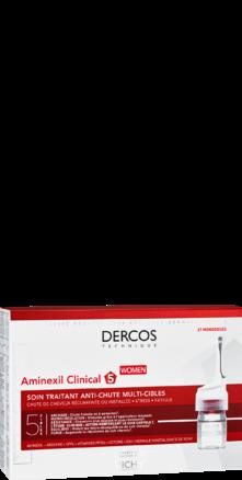 Prohealth Malta Vichy Dercos Aminexil Clinical 5 Anti-Hairloss Treatment for Women