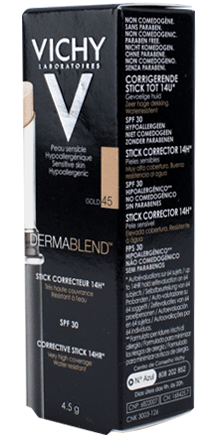 Prohealth Malta Vichy Dermablend SOS Cover Stick - 14Hr - Shade 35