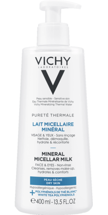 Prohealth Malta Vichy Purete Thermal Micellar Milk Cleanser for Dry Skin