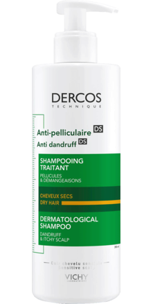 Prohealth Malta Vichy Dercos Anti-Dandruff Shampoo for Dry Hair 390ml