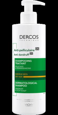 Prohealth Malta Vichy Dercos Anti-Dandruff Shampoo for Dry Hair 390ml