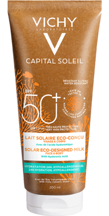 Prohealth Malta Vichy Capital Soleil Solar Eco-Designed Milk SPF 50+