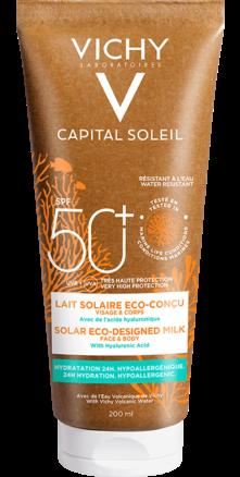 Prohealth Malta Vichy Capital Soleil Solar Eco-Designed Milk SPF 50+