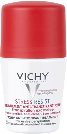Prohealth Malta Vichy Stress Resist Anti-Perspirant Roll-On 72Hr - Duo Pack Offer