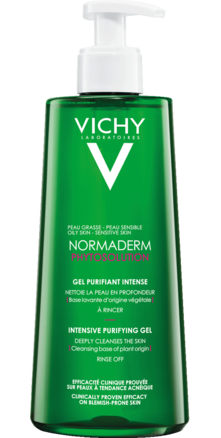 Prohealth Malta Vichy Normaderm Phytosolution Purifying Cleansing Gel 400ml